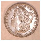 1879 MORGAN DOLLAR, NO MARKINGS