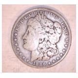 1886 MORGAN DOLLAR, O MINT