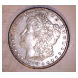 1900 MORGAN DOLLAR, NO MARKINGS