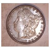 1898 MORGAN DOLLAR, NO MARKINGS