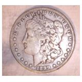 1899 MORGAN DOLLAR, O MINT