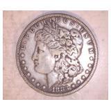 1883 MORGAN DOLLAR, NO MARKINGS