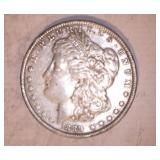 1889 MORGAN DOLLAR, NO MARKINGS