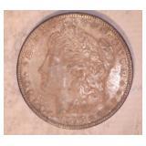 1897 MORGAN DOLLAR, NO MARKINGS