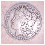 1888 MORGAN DOLLAR, O MINT