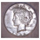 1923 PEACE DOLLAR, S MINT