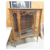 Wood Display Cabinet w/3 Shelves