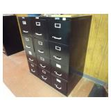 7 Filing cabinets
