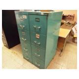 2 Metal Filing Cabinets