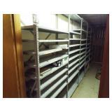 5- Metal shelves