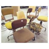 6 - Assorted chairs