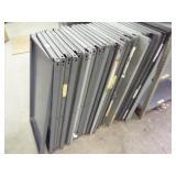 27 - Metal shelf / no frames