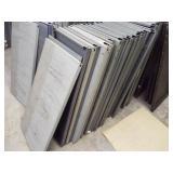 30 - Metal Shelfs / no frames