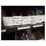 Assorted screws, bolts / Detailed sizes in photos
