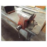 Metal Frame table w/wood top