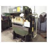 DI-ACRO 17 Ton Press Brake w/tools and roller cart