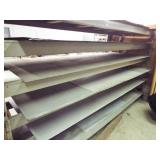Heavy Duty Metal shelving / Assorted Galvanized