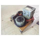 Power supply with Transformer, Elect cord