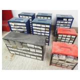 9- Plastic Organizer Bins