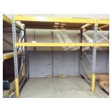 3 Heavy Duty Metal Shelves
