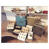 Decade Boxes, 2 Oscilloscopes, Power Supply