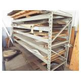 Heavy duty Shelving with contents