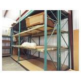 Heavy Duty Shelving system w/walkway & ladder