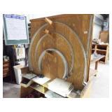 Wood Tool cart w/ 28