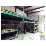 Heavy Duty Shelving system w/loft