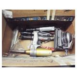 "3 ea 3/8"" air ratchet wrenches, air sander"