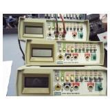 4 ea. 801A Multi meters, 2 ea. DC amp meters