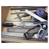 Assortment of flat files, 3 nut driver sets
