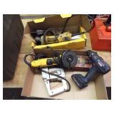 Skil Electric nibbler, 2 DeWalt Electric grinders