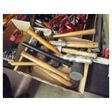 1 Box Assorted Hammers