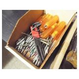 1 box- Allen wrenches with removable handles