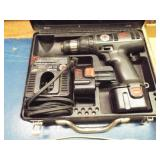 Black& Decker Cordless drill ,2 batteries, charger