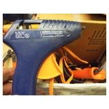 2 ea. Electric Glue guns & 1 box hot melt adhesive