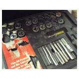 Partial Tap and Die set, C-Clamp, welding clamp