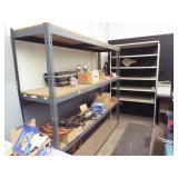 2 ea. Metal Shelves / NO CONTENTS