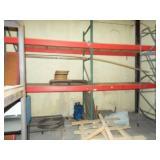 2 ea. Heavy Duty Metal shelving