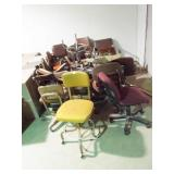 20 ea. assorted Office Chairs