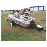 2004 Buster Boat, 10ft, with trailer