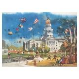 """The Capitol Building, Denver,"""