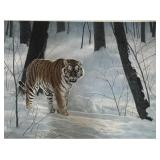 """Emperor of Siberia,"" (Siberian Tiger)"