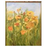 """""""Field of Flowers"""" rust to yellow"""