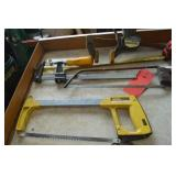 Wood clamp and Hack saws