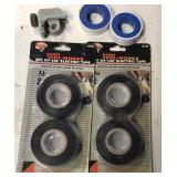 Pipe cutter, Pipe tape & electrical tape
