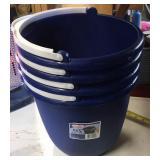 10 Qt. Buckets blue