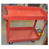 rolling metal tool tray