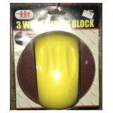 3 Way Sanding Block